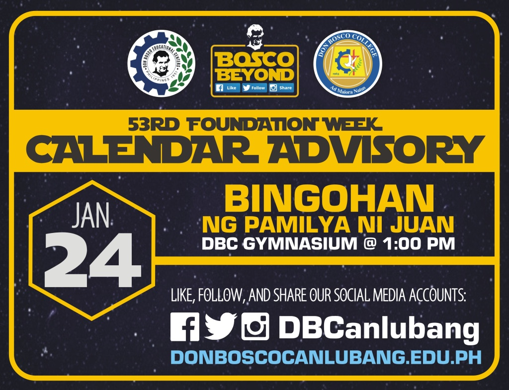 #BOSCOBEYOND: UPCOMING ACTIVITY – JANUARY 24