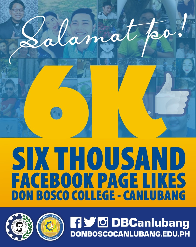 Official Facebook Page of DBC Now 6K Likes!