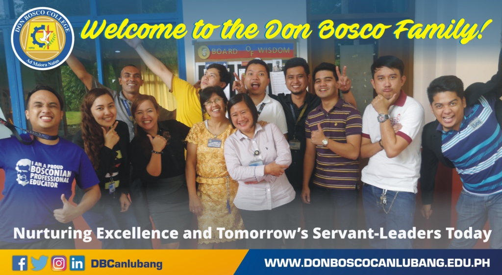 Welcome to Don Bosco Family!