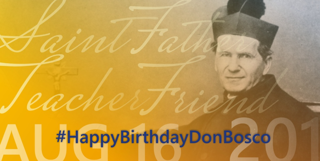 #HappyBirthdayDonBosco