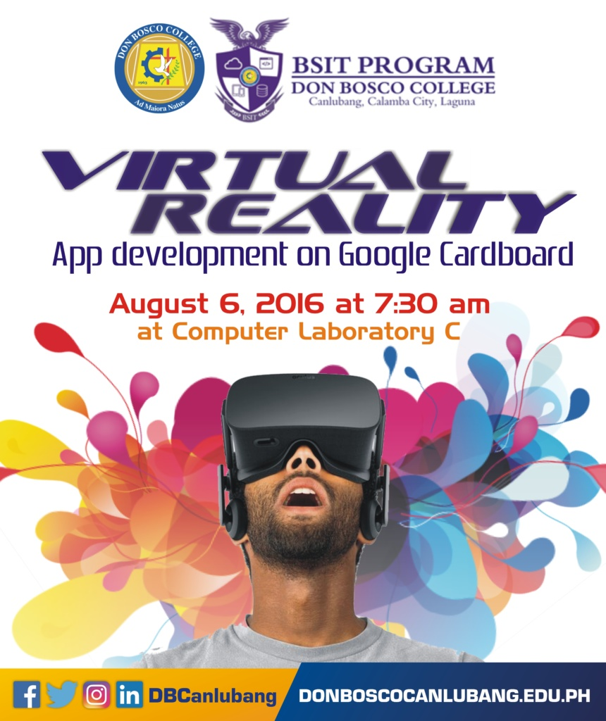 IT students of DBC will go VR