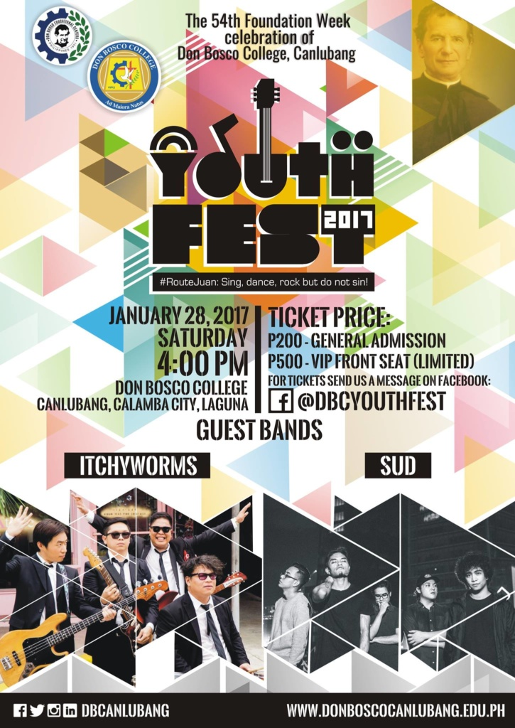 Youth Fest 2017: Reserve your tickets NOW!