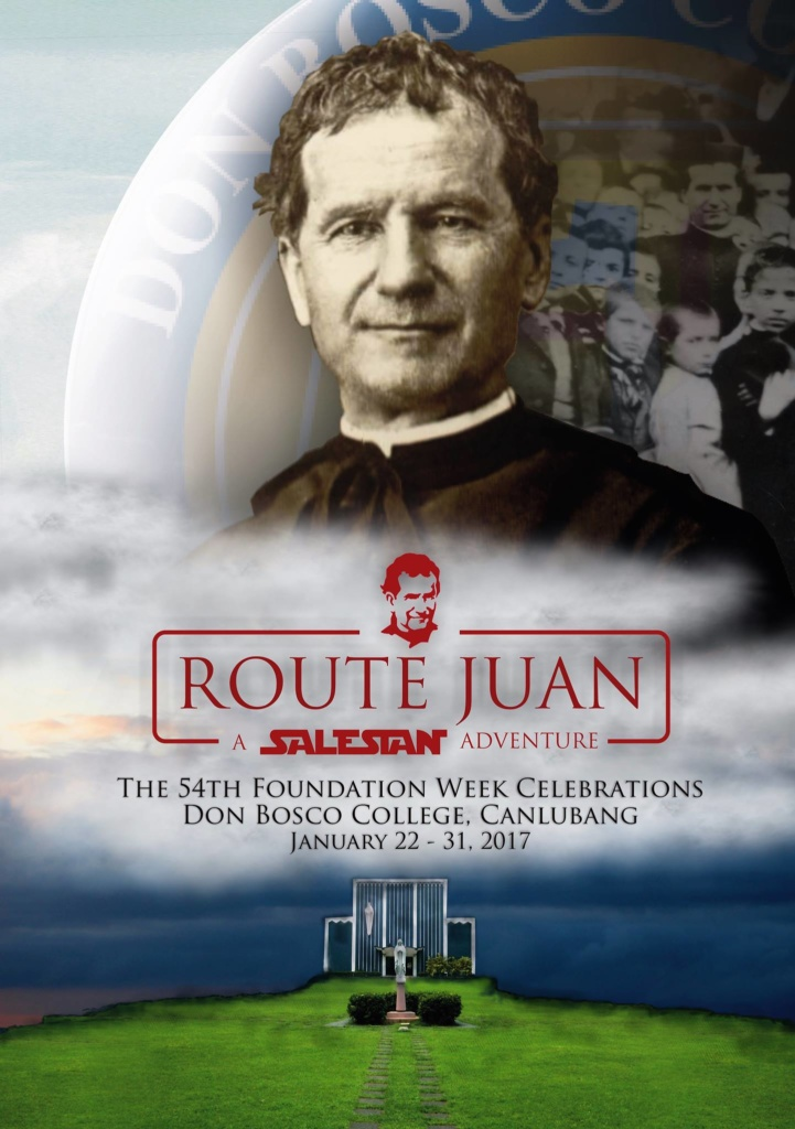 ROUTE JUAN: The 54th Foundation Week of Don Bosco College – Canlubang
