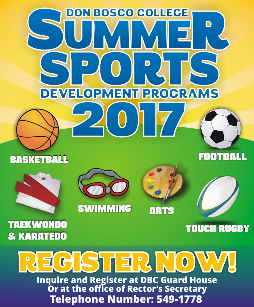DBC Summer Sports Program 2017 will start March 27