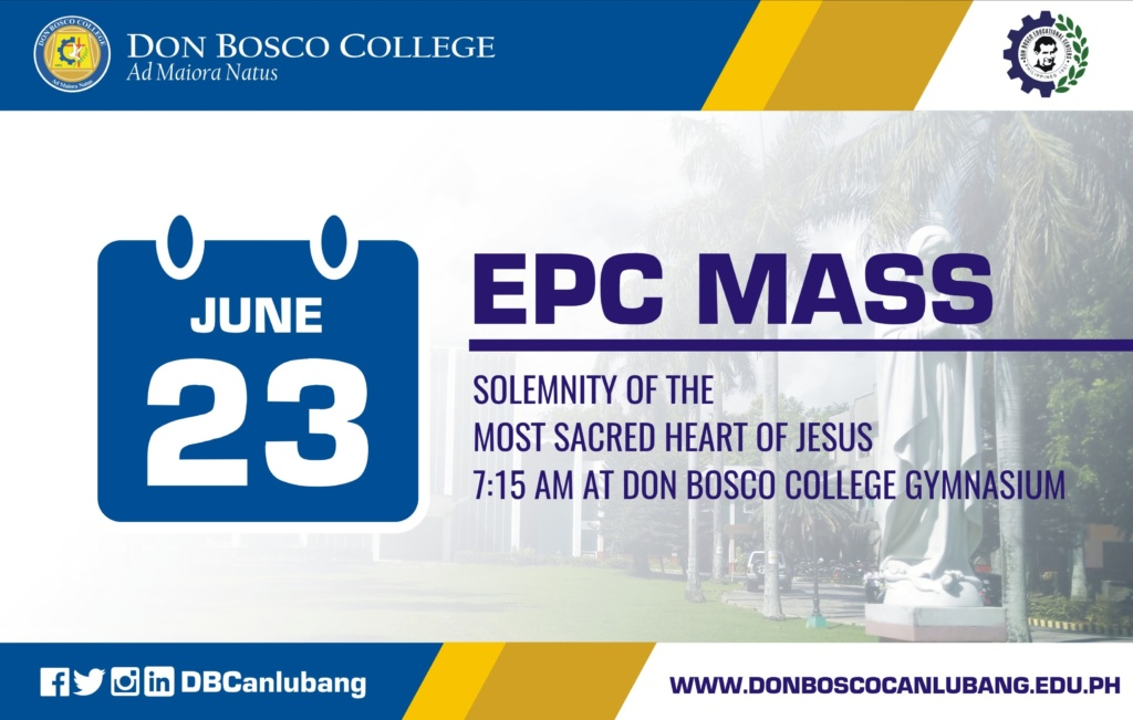 EPC Mass on June 23rd