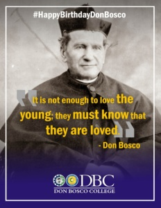 Happy 202nd Birthday Don Bosco!